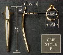 Clip style E